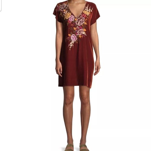 Johnny Was Dresses & Skirts - Johnny was ZOSIA DRAPE TUNIC DRESS